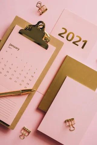 Planejamento pessoal para 2021 - necessidade de mantê-lo