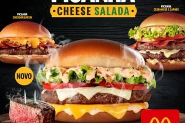 Picanha Cheese Salada é a nova estrela do Méqui