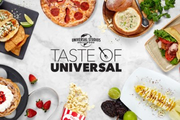 "Universal Studios Hollywood oferece o ""Taste of Universal"" e recebe os visitantes de volta ao parque temático"