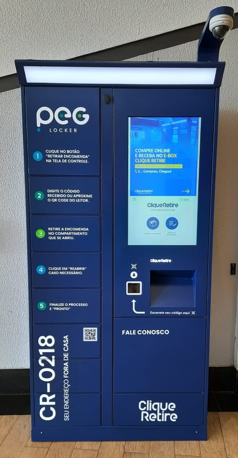 Boulevard Shopping Londrina implanta lockers para retirada de mercadorias