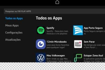 VW Play passa a contar com o aplicativo Spotify