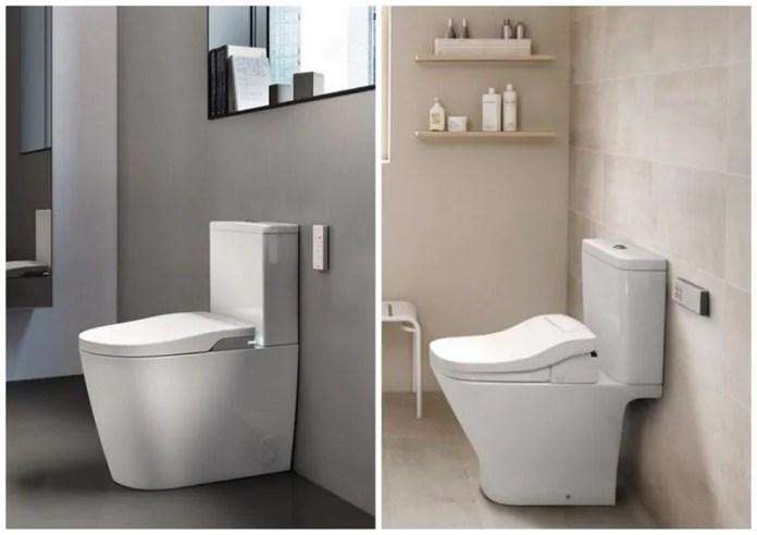 Bacias sanitárias com controle remoto e assentos eletrônicos: conceito de casa inteligentes chega aos banheiros