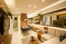 Apartamento modelo do Porto Tingui é acolhedor e versátil