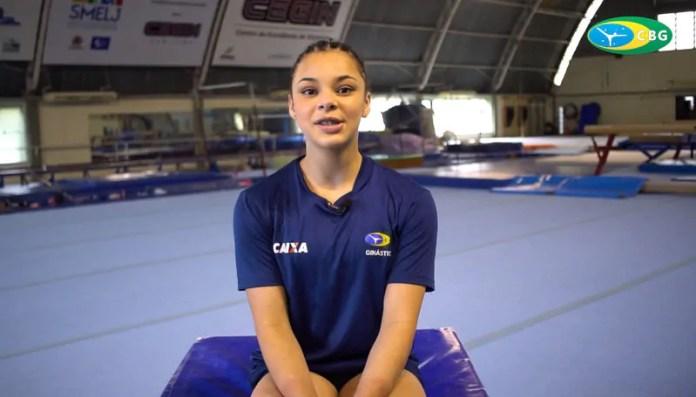 Atleta revelada em Telêmaco Borba é ouro no Campeonato Pan-Americano de Ginástica Artística
