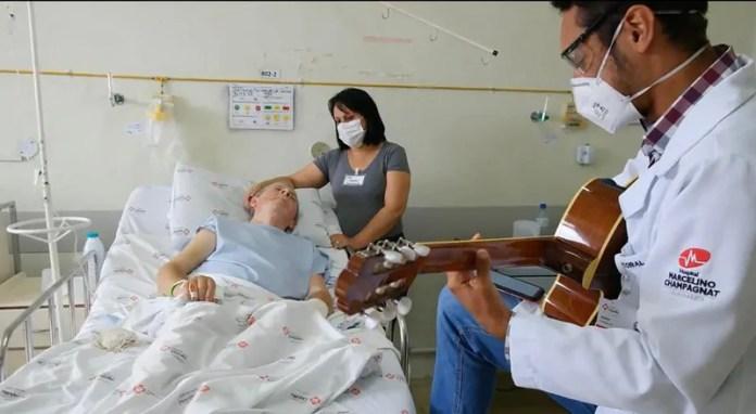 música em hospitais auxilia na recuperação de pacientes em períodos de isolamento