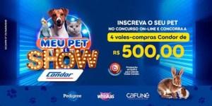 Condor realiza concurso pet on-line