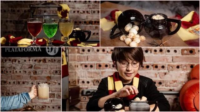 Outubro Bruxo: mundo mágico de Hogwarts invade o Chelsea Burgers & Shakes