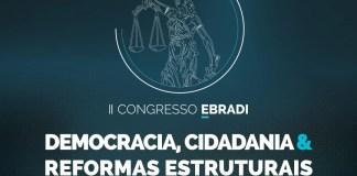 """O evento, realizado em 26 e 27/10, será online com 10 horas de conteúdo exclusivo e ao vivo sobre o tema """"Democracia, Cidadania & Reformas Estruturais"""". As inscrições estão abertas"""
