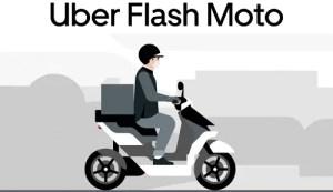Entregas de Uber Flash Moto chegam a Curitiba