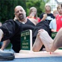 Campeonato mundial de luta de dedos grandes do pé