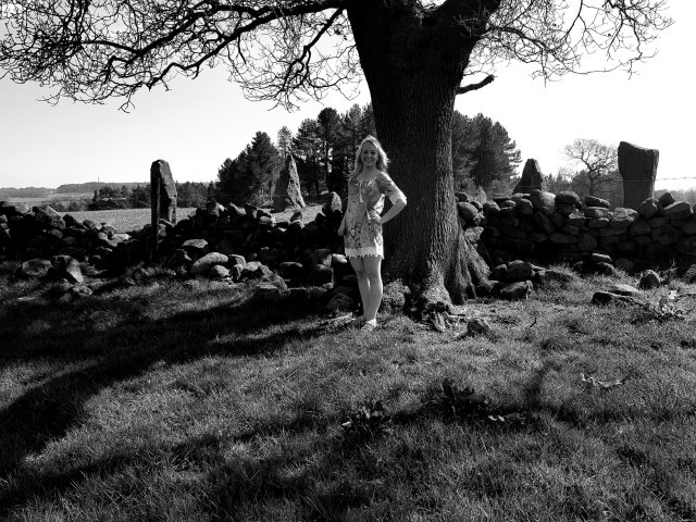Nine Close Stone Circle – The 'Grey Ladies'