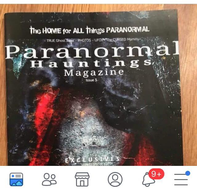 NOMINATION FOR BEST MAG – Please vote Paranormal Hauntings Magazine