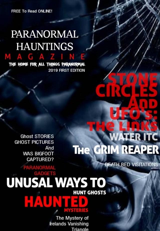 Paranormal Hauntings Magazine | 2019 Editon FREE Paranormal Magazine