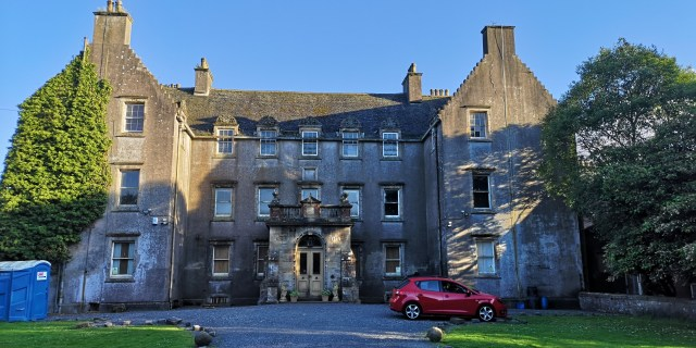 HAUNTED BannockBurn House.
