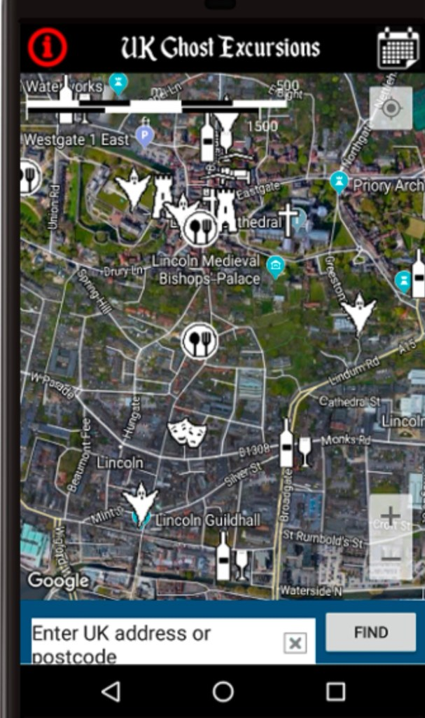 Haunted spots Near Me   The UK Ghost Excursion Map – Download the App today