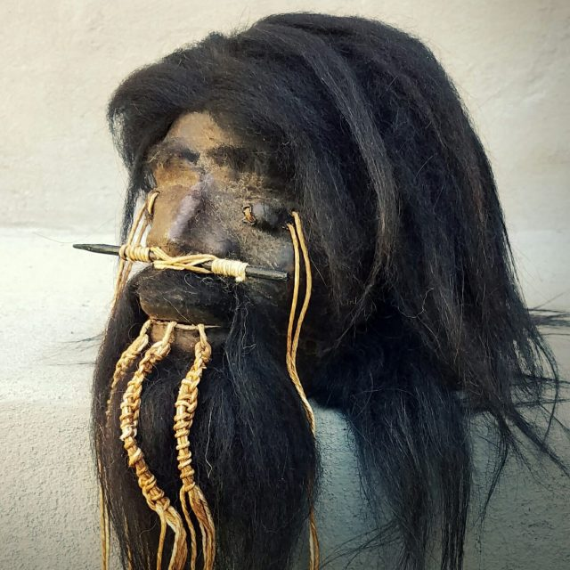 The SHRUNKEN HEAD | HISTORY