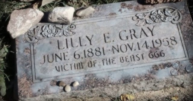 ' Victim of the Beast 666' Lily E. Gray