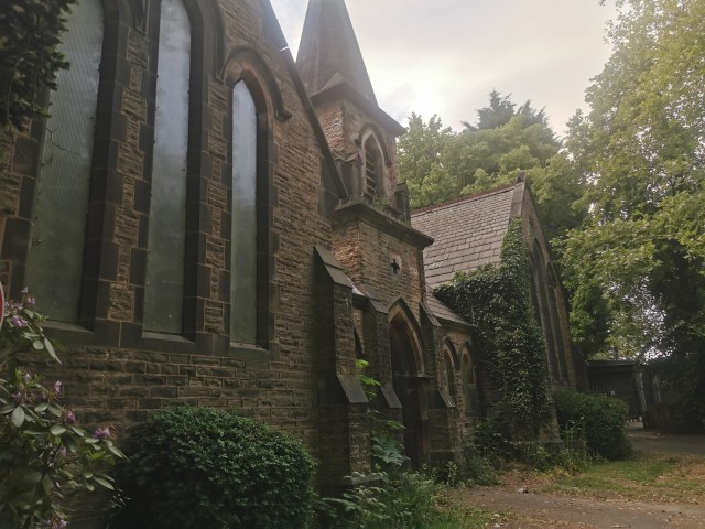 STAVERLEY CEMETERY Church | Mortuary Chapels | History