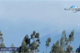 Des ovnis au-dessus du volcan Popocatepetl au Mexique