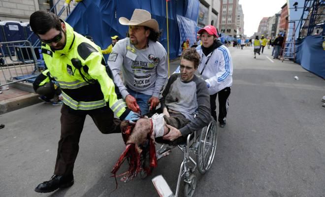 Explosions de Boston 1