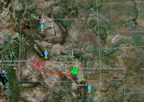Un météore de taille a explosé dans le ciel du Wyoming