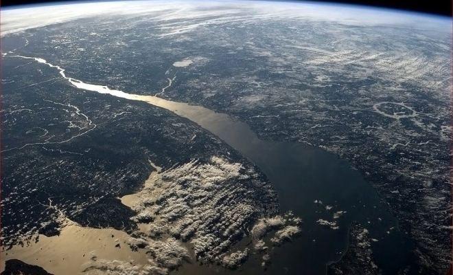 Le Québec vue de l'espace