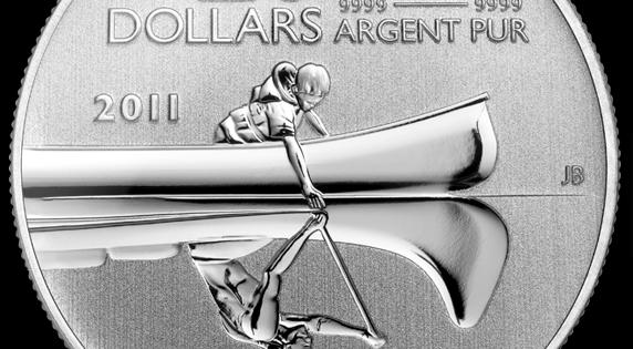 Un alien apparait sur la face d'une pièce de monnaie au Canada