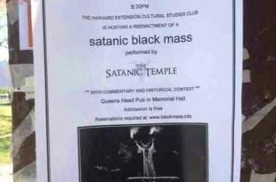 Une messe noire annulée à Harvard