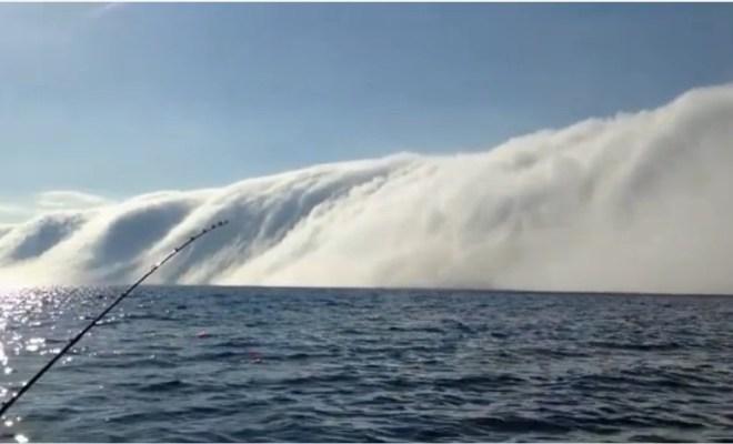 Lac Michigan: après la mer de glace, le mur de brume
