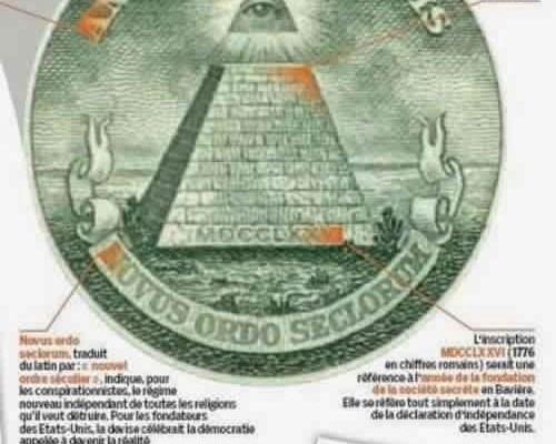 """Le journal """" Le Parisien"""" s'intéresse aux illuminatis"""