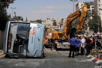 Une attaque à la pelleteuse fait deux morts à Jérusalem-Est