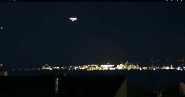 Un étrange phénomène s'est produit à Martigues, un OVNI ?
