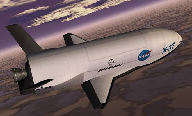 X-37B: Un UAV américain retourné sur Terre après une mission secrète