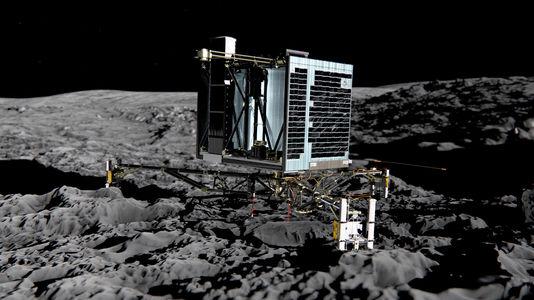 Le robot Philae en route vers la comète Rosetta