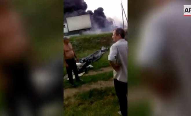 Vidéo amateur du crash du Boeing MH17