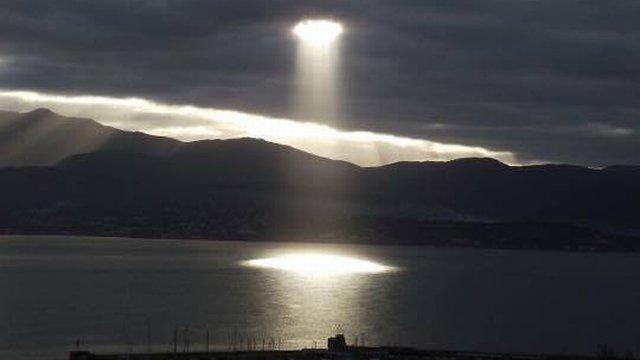 insolite: Une trouée presque surnaturelle dans le ciel d'Ajaccio