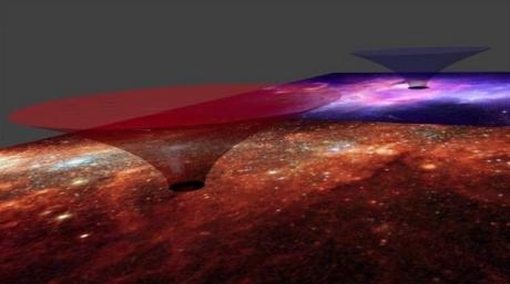 """Notre galaxie est un """"trou de ver"""", selon des physiciens"""