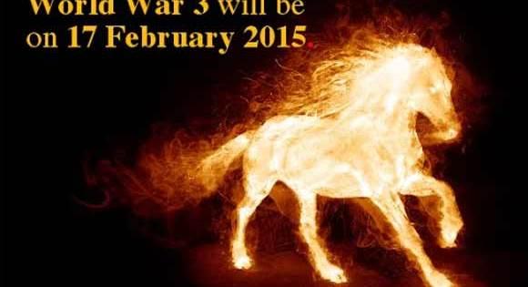 Un numérologue déclare que la Troisième Guerre Mondiale débutera le 17 Février 2015