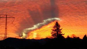 Une incroyable formation nuageuse immortalisée dans le ciel du Canada