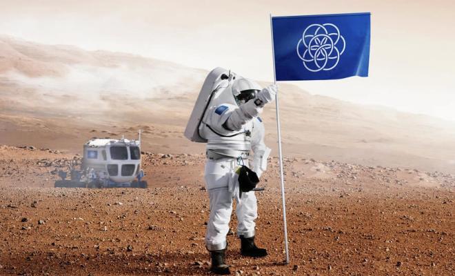 Création d'un drapeau de la Terre