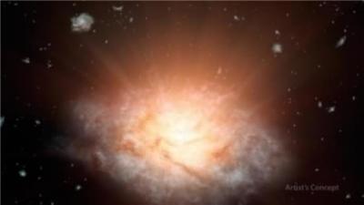 La galaxie la plus lumineuse de l'Univers découverte