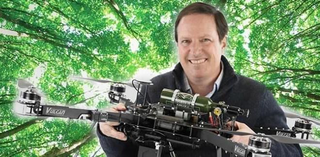 Un drone pourrait planter un milliard d'arbres par an