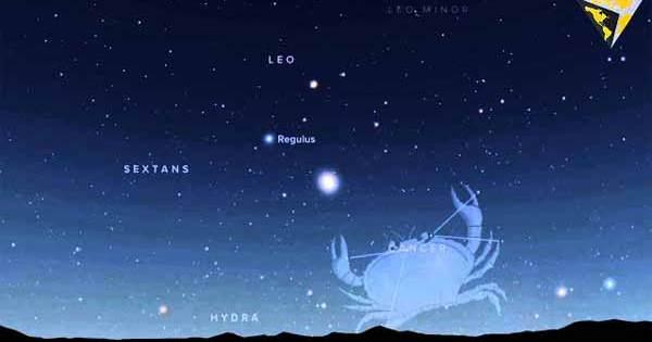 Conjonction entre Vénus et Jupiter, le 30 juin 2015.