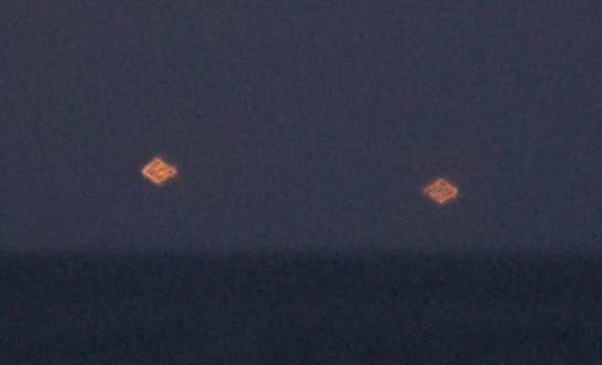 Deux OVNI au-dessus de Vero Beach en Floride