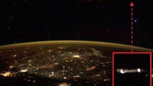 Un astronaute de l'ISS a-t-il photographié un OVNI ?