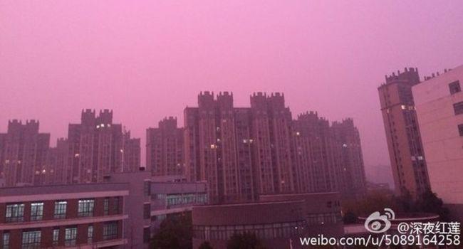 Chine : un étrange brouillard violet inquiète les habitants