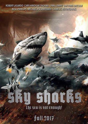 SKY SHARKS: NAZIS ZOMBIES ET REQUINS VOLANTS WTF??!!