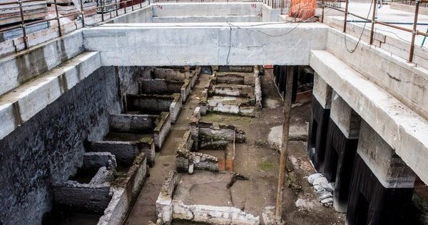 Découverte archéologique sensationnelle au cours de travaux du métro de Rome