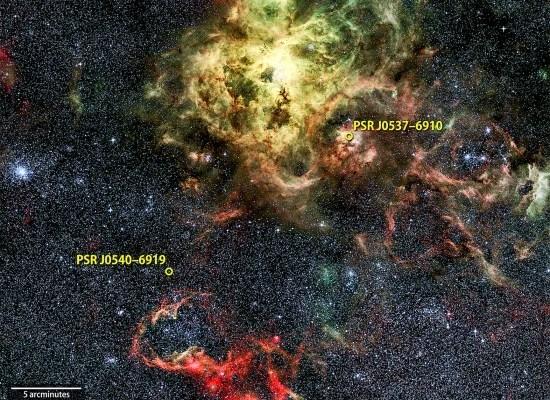 Des phares électriques dans le cosmos