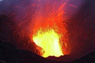 Le sourire du volcan